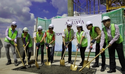 Trinity Aquata expected to completed ahead of schedule by end of the year